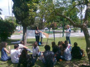 Clase Pública en la Universidad Nacional de La Pampa.