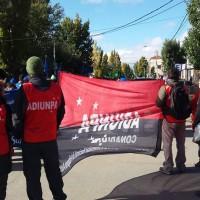 Santa Cruz: ADIUNPA en la movilización provincial.