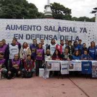 Acto frente al Ministerio de Educación (CABA)